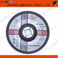 "T27 6"" inch Aluminum Oxide Grinding Wheel for Stone"