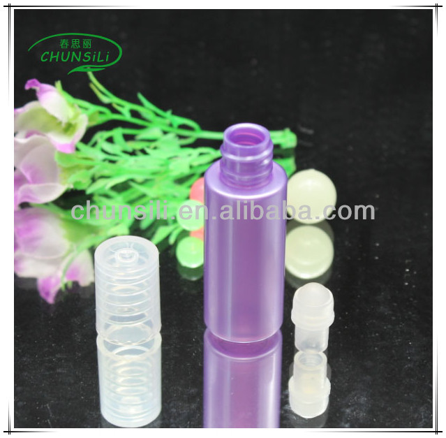 wholesale china PET 10ml empty custom roll on pet vietnam air travel bottle