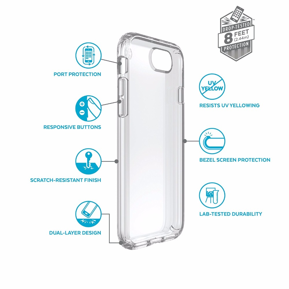 clear transparent protective case for iphone