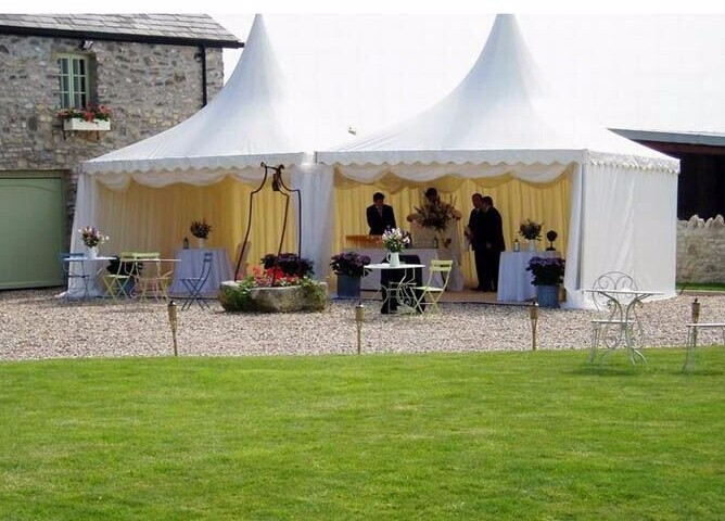 High Peak Aluminium Frame Pagoda Marquee for Sale