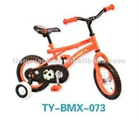 Hot selling bright color cheap lovely strong steel BMX child kids dirt bicycle /bike with training wheel