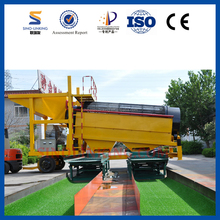 SINOLINKING 2018 New Design Mobile Gold Trommel Wash Plant for sale