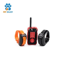 Deep Waterproof & Rechargeable Dog Shock Collar with Remote for Large / Medium / Small Dogs Swimming Electronic Shock Collar