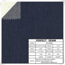 new cotton slub spandex denim fabric for jeans/leotard/pants