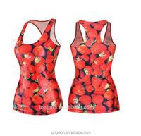 Custom top quality women's running vest
