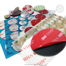 Custom Shape LS Rubber Foam OR 3M Double Sided Adhesive Tape Dots