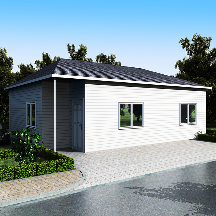 modern low cost sandwich panel solar prefab house with ventilator roof in uruguay