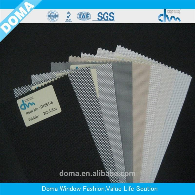 Semi-transparent sunscreen blinds roman blind fabric