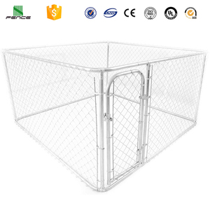 Large dog kennel / chain link rabbit cage wire mesh / 6ft dog kennel cage