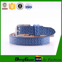 thin fashion kids chastity PU leather belt for child made in cn