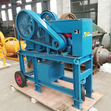 Mini Mobile Primary Stone Jaw Crusher for Ballast Crushing