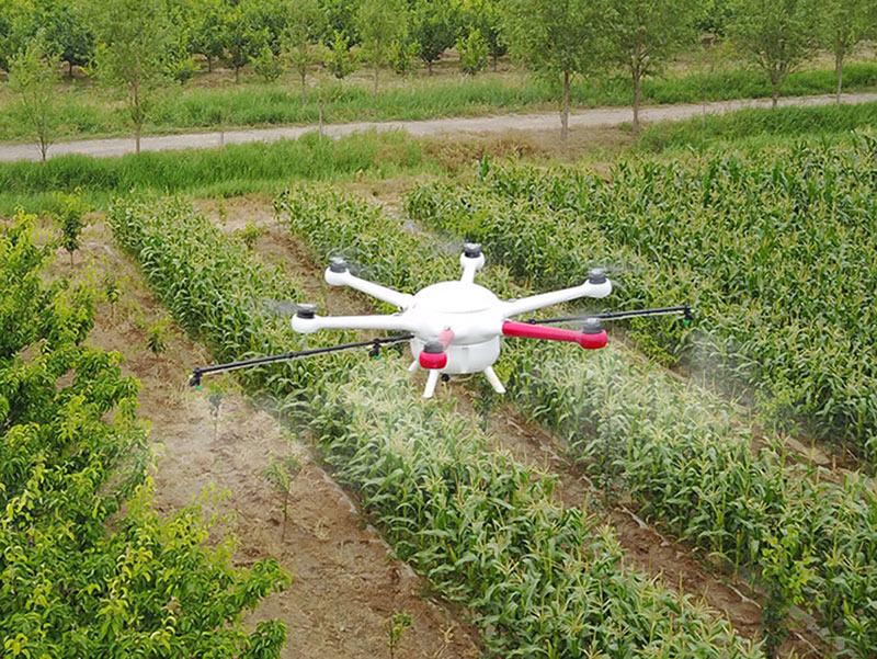 Large volume 23L agricultural sprayer drone uav water tank propeller with high quality