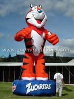 new custom design inflatable tiger for outdoor show and decoration N2046