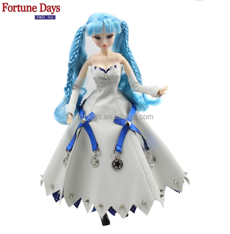 (YW-MMG-1704-<strong>02</strong>) Wholesale PVC 35cm MM Girl dolls Selina <strong>02</strong>
