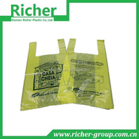 large capacity plastic clear shopping bag