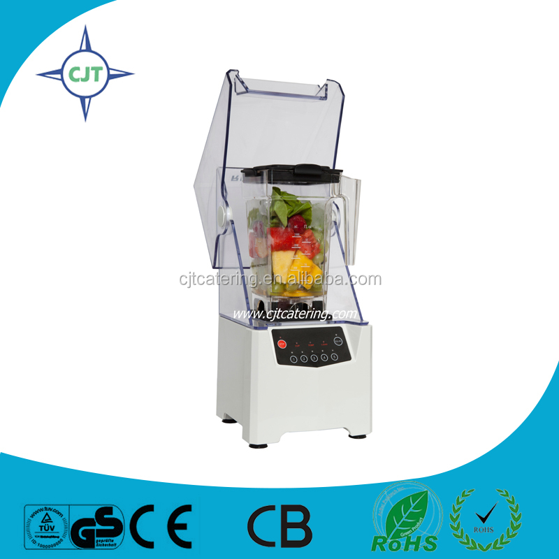 Nice design Black large top quality PC cup Multi functional commercial quiet blenders from CJTcatering