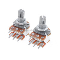 B10K Top Adjustment Dual Double Linear Potentiometer