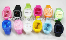 Fashion silicone ladies jelly watch hot sale China Supplier