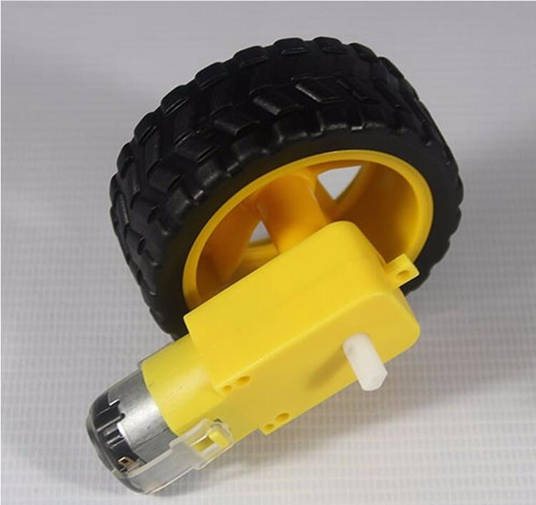 Plastic Wheels For Toys with DC Motor Gear Box