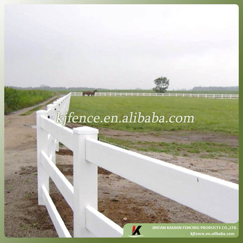 100% virgin vinyl post and rail pvc farm fencing