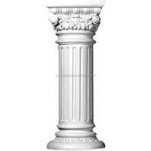 natural stone hand carved stone marble column for building house hotel hall decoration