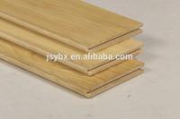 High quality long duration time UV oil wide plank Amber color Waved Oak Laminate Wood Flooring manufacturer