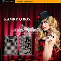 So Cool convenient 600mah disposable kamry mini Q box vaporizer pen wholesale