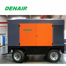 high pressure mobile air compressor for water well drill machine