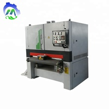 Automatic woodworking mdf wood floor belt brush sanding machine