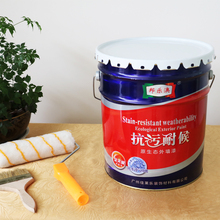 Antifouling weather resistance exterior wall paint