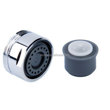 Water Saving Faucet Aerator Male thread M24*1 POM Core with Brasss Shell Strong Spray Stream 1GPM per Min