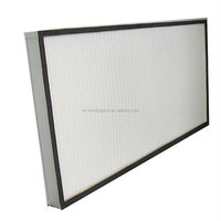 Aluminum frame paper pleated HEPA filter H13 H14 U15 U16