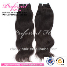 7A unprocessed wholesale virgin peruvian hair , 100% human remy peruvian virgin hair weave