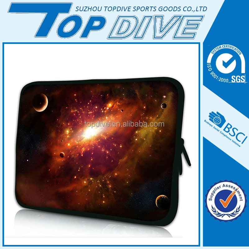 High quality neoprene material portable laptop carrying sleeve