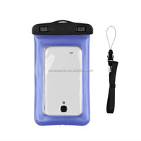 Wholesale high quality pvc waterproof mobile phone bag for iphone 6