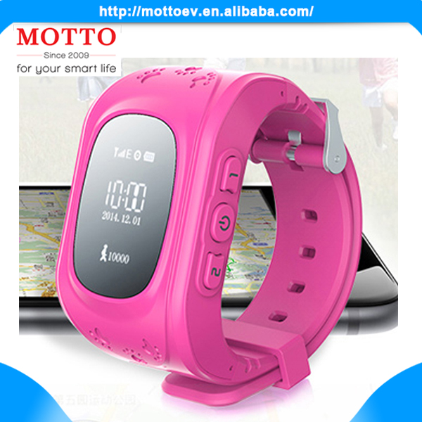 2016 Most Popular Colorful Mobile Phone Watches With SOS GPS Calling Functions