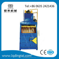 15tons(hand valve and electric button operate)vertical compression packing machine