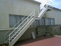CAT LADDERS CAGE LADDERS STAIRCASE GANGWAYS WALKWAYS SS ALUMINIUM CATLADDERS CAGE LADDERS
