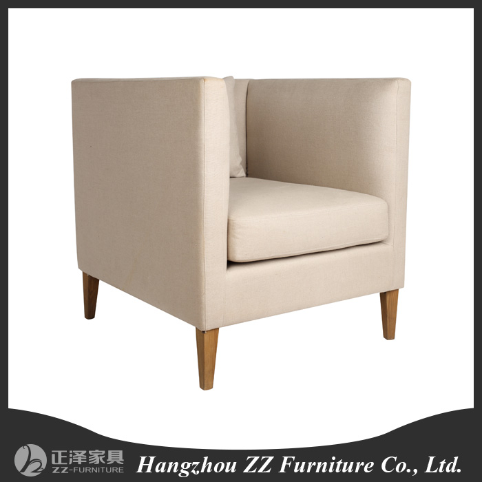 Latest design provincial wodoen frame tufted sofa design