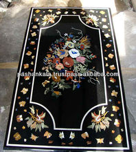 Inaly Marble Home Decorative Pietra Dura Table Top