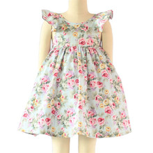 2016 new style fashionable child satin frocks designs