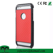 phone case for iphone 6, tpu&pu leather cheap custom plain mobile phone cases manufacturer