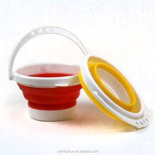 MINGHUA circular bucket plastic bucket for art <strong>brush</strong> washer Wash the pen