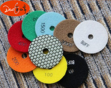 Wet Dry Diamond Flexible Polishing Pads For Granite Marble Stone