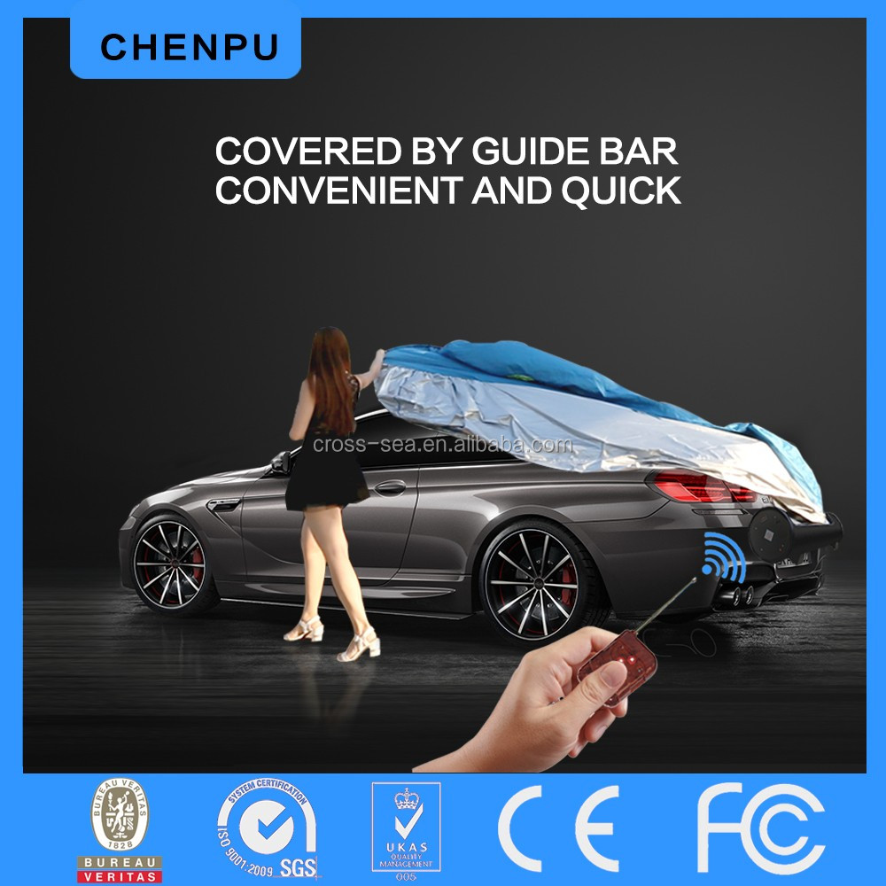 shelter Cove car body cover remote protection car cover