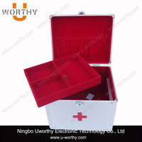 Aluminum Medicial Tool Case First-aid Case Box