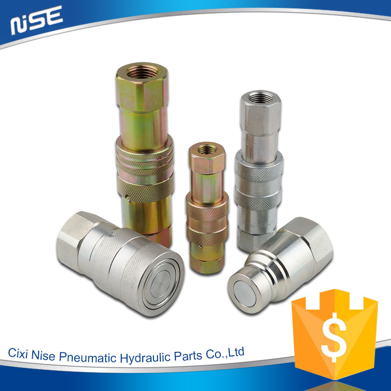 Flat face Type Hydraulic QuIck Release Coupling