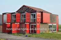 hot sale container house used for office/hotel/toilet