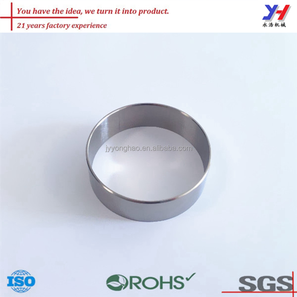 Custom size Welded stainless steel/ aluminum ring OEM machining ring