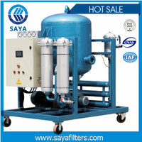 Auto dehydrator filter ZLYC-50A vacuum type oil water separator prices
